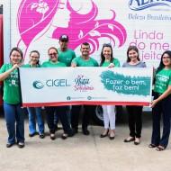 Natal Solidário Cigel leva esperança para o Abrigo Domiciliar Clodoaldo Gomes