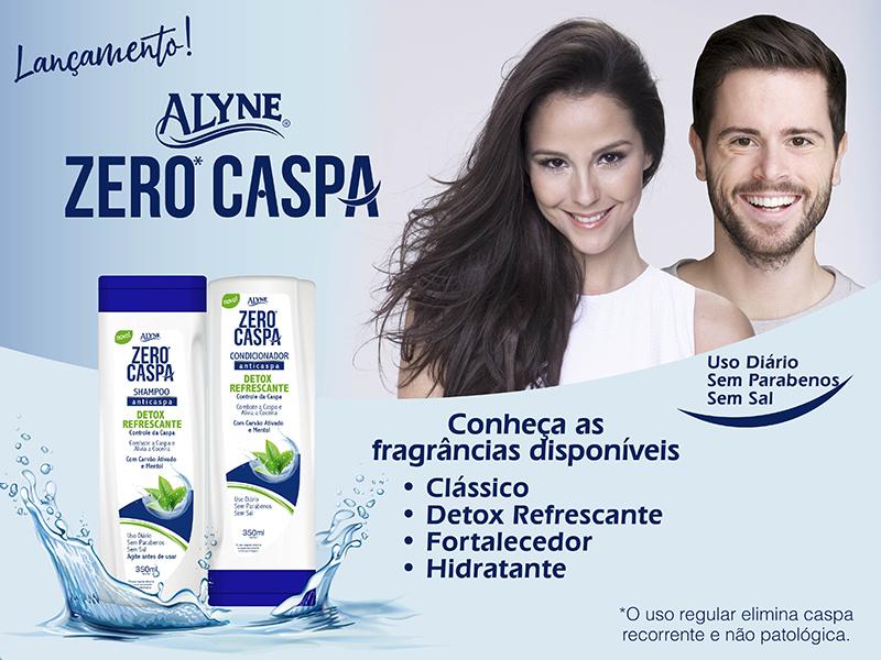Linha Alyne Zero Caspa